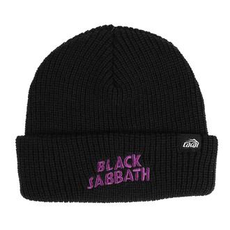 beanie kapa Lakai x Black Sabbath - črna, Lakai x Black Sabbath, Black Sabbath