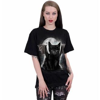 Unisex majica SPIRAL - BAT CAT- Črna, SPIRAL