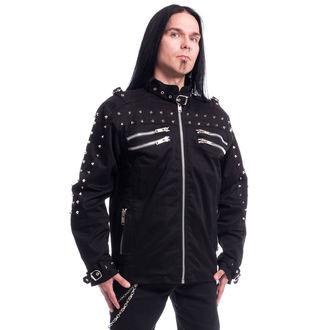 Spomladanska / jesenska jakna - GASTON - CHEMICAL BLACK - POI436