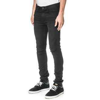 Moške hlače (kavbojke) GLOBE - G.04 Skinny - Beat Down Črna, GLOBE