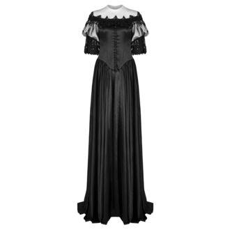 Ženska obleka (poročna, gala obleka) PUNK RAVE - Black Ruby Gothic, PUNK RAVE