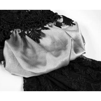 Ženska Obleka (za Poroko ali Ples) PUNK RAVE - Black Ruby Gothic