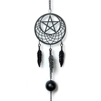 Zvončki (dekoracija) ALCHEMY GOTHIC - Pentagram Dream Catcher, ALCHEMY GOTHIC