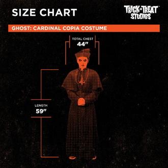Kostum Ghost - Cardinal Copia, Ghost