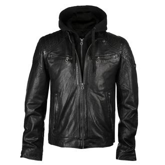 Moška (bajkerska) jakna GBGorey 2 LASANV - Črna, NNM