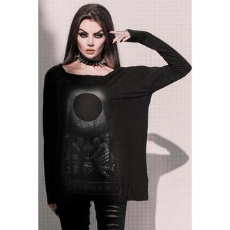 Ženska majica z dolgimi rokavi KILLSTAR - Black Sun, KILLSTAR