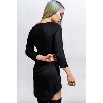 ženska pižama (spalna srajca) KILLSTAR - Gothicorn - Črna, KILLSTAR