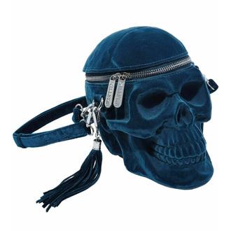 Ročna torba (torbica) KILLSTAR - Grave Digger Skull - MODRA, KILLSTAR