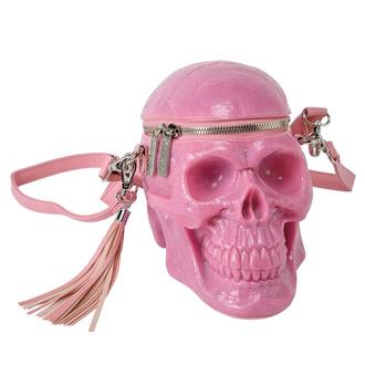 Torbica (ročna torba) KILLSTAR - Grave Digger Skull - BUBBLEGUM, KILLSTAR