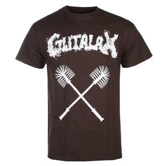 Moška majica GUTALAX - toilet brushes - rjava - ROTTEN ROLL REX, ROTTEN ROLL REX, Gutalax