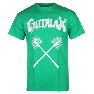 Moška majica GUTALAX - toilet brushes - zelena - ROTTEN ROLL REX, ROTTEN ROLL REX, Gutalax