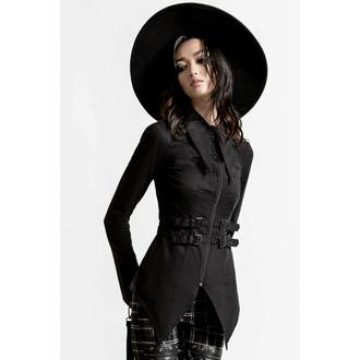Ženska majica KILLSTAR - Haze & Confused Zipper - Črna, KILLSTAR