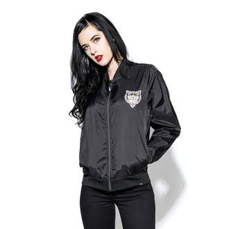 Unisex pomlad / jesen jakna - Hell Cat - BLACK CRAFT, BLACK CRAFT