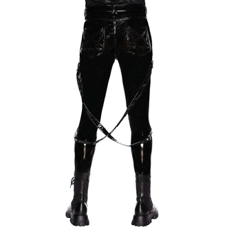 Ženske hlače KILLSTAR - Hexers Gloss Jeans, KILLSTAR