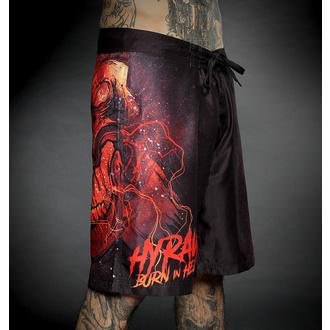 Moške kopalne kratke hlače HYRAW - BURN IN HELL, HYRAW
