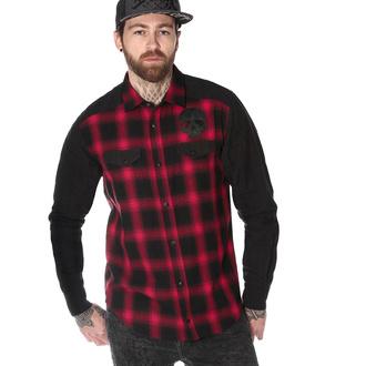 Moška srajca z dolgimi rokavi HYRAW - CHEMISE DEATH SHADOW, HYRAW