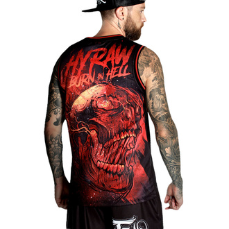 Moški top (dres) HYRAW - BURN IN HELL, HYRAW