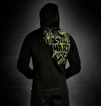 Moški hoodie HYRAW - CEMETERS, HYRAW