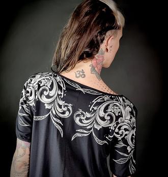 Ženska majica HYRAW - NIGHTMARE, HYRAW