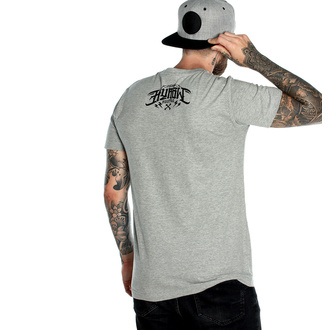 Moška majica HYRAW - Graphic - DEATH AWAITS GRIS, HYRAW
