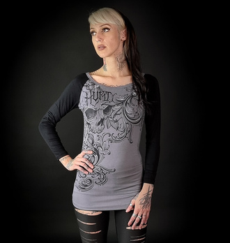 Ženska majica z dolgimi rokavi HYRAW - HURT, HYRAW
