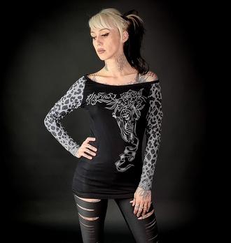 Ženska majica z dolgimi rokavi HYRAW - WILD, HYRAW