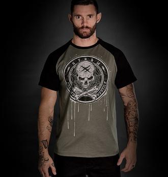 Moška majica HYRAW - BLAZON - SIVA - FW21-M16-SST
