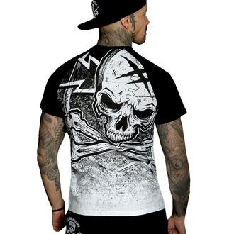 Moška majica HYRAW - Graphic - RAGLAN BLAZON - WHITE, HYRAW