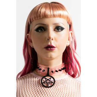Choker KILLSTAR - IC Magic - Pastel Pink, KILLSTAR