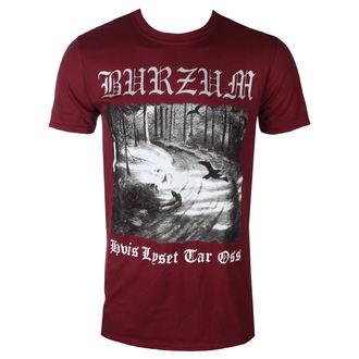 Moška metal majica Burzum - HVIS LYSET TAR OSS (MAROON) - PLASTIC HEAD, PLASTIC HEAD, Burzum