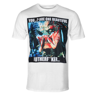Moška majica Predator - You Are Beautiful - Bela - HYBRIS, HYBRIS, Predator
