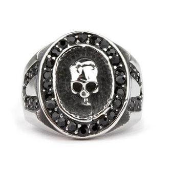 Prstan ETNOX - Crystal Skull, ETNOX