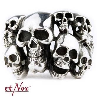 Prstan ETNOX - Skulls, ETNOX