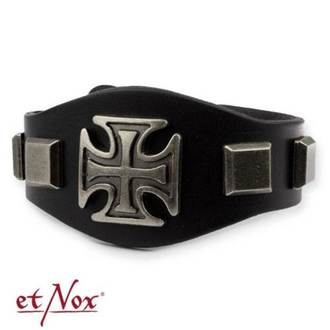 Zapestnica ETNOX - Iron Cross and Studs, ETNOX