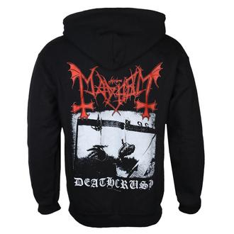 Moška jopa s kapuco Mayhem - Deathcrush - (Črna) - RAZAMATAZ, RAZAMATAZ, Mayhem