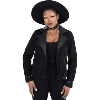 Ženska jakna KILLSTAR - Interstate Biker - Črna, KILLSTAR