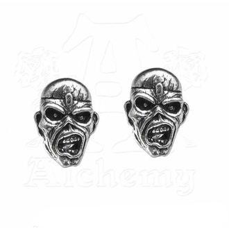 Uhani Iron Maiden - Eddie Head - ALCHEMY GOTHIC, ALCHEMY GOTHIC, Iron Maiden