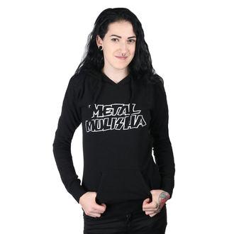 Ženska jopa s kapuco - SQUAD PO BLK - METAL MULISHA, METAL MULISHA