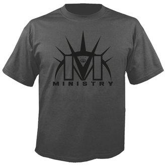 Moška metal majica Ministry - Logo SIVA - NUCLEAR BLAST, NUCLEAR BLAST, Ministry