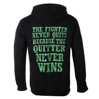 Moški hoodie Dropkick Murphys - Fighter Plaid - Črna - KINGS ROAD, KINGS ROAD, Dropkick Murphys