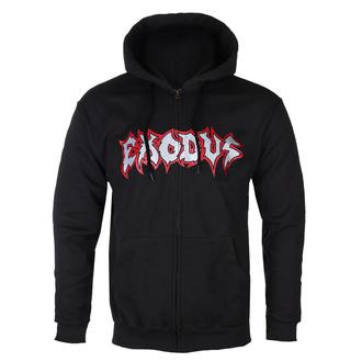 Moški hoodie Exodus - Metal Command Silver - Črna - KINGS ROAD, KINGS ROAD, Exodus