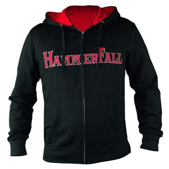 jopa s kapuco ženske Hammerfall - Hammered DELUXE Girlie ZIP HOOD - NUCLEAR BLAST, NUCLEAR BLAST, Hammerfall