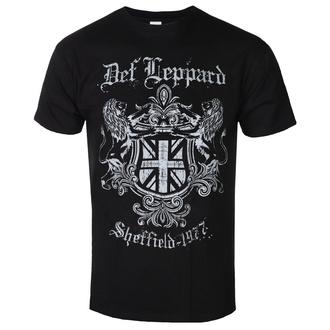 Moška metal majica Def Leppard - SHEFFIELD 1977 - PLASTIC HEAD, PLASTIC HEAD, Def Leppard