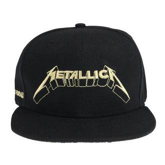 Kapa Metallica - Justice Glow - Črna, NNM, Metallica