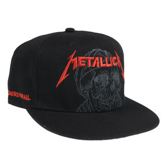 Kapa Metallica - One Justice - Črna, NNM, Metallica