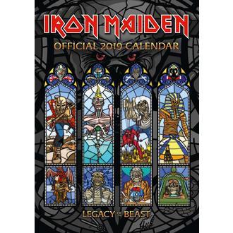 Koledar za leto 2019 IRON MAIDEN, NNM, Iron Maiden