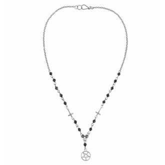 Ogrlica z obeskom Pentagram-Cross, FALON
