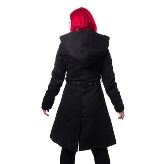 ženski plašč CHEMICAL BLACK - KIARA - ČRNA, CHEMICAL BLACK