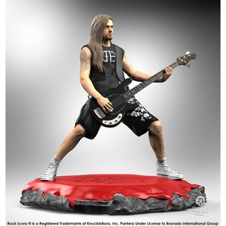Figura Pantera - Rock Iconz Statue - Rex Brown, KNUCKLEBONZ, Pantera