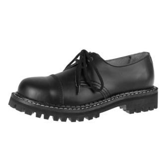 Čevlji KMM 2x vezalna očesca - Black, KMM